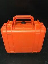 Pelican 1300 Hard Case Orange w/ foam