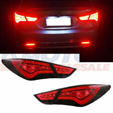 LED Tail Lights Lights Lamp Assembly Taillight Rear For 2011-2014 Hyundai Sonata