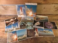 NASA Kennedy Space Center Collection of Twelve Prints Pictures Space Shuttle