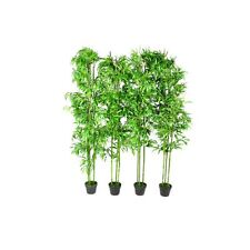 """4 pcs 75"""" Bamboo Plant Artificial Arrangement Fake Silk Tree Home Decor Potted"""