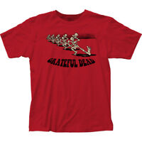 Authentic Grateful Dead Skeleton Parade adult soft T-shirt S M L XL 2X top