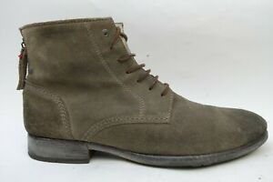 Diesel Ankle Suede Boots Men Brown Size 11 US 45 EU Made in Portugal