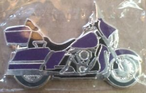 2007 1 Dollar Somali Republic Purple Passion Motercycle Silver Coin legal tender