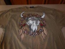 Vintage Harley Davidson Sturgis Tee T- Shirt Black Hills Men's M Medium