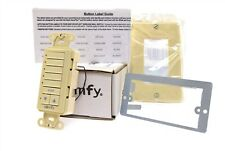 Somfy Decoflex Wirefree RTS Wall Switch 5-Channel Ivory