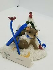 Fitz & Floyd Charming Tails X-Cellent Skier Mouse 87/ 173 Free Shipping Rare!