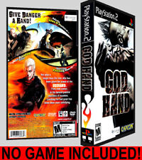 God Hand - PS2 Reproduction Art DVD Case No Game