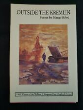 Outside the Kremlin by Margo Solod 1996 Sewn Chapbook with DJ, Nightshade Press