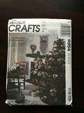 McCalls Crafts 4954 - Hearts & Sole Christmas Sewing Pattern Uncut Older 1990