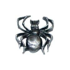 Spider Étain Revers Broche Badge Gothique Tarentule Arachnologist Neuf / Cadeau