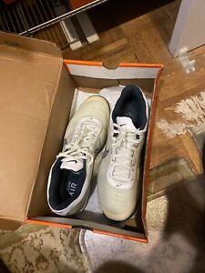 nike vapor 6 - Federer clay court tennis shoes white/gray size 12