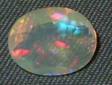 1.10ct Beautiful STRONG FIRE Faceted Wello Ethiopian Opal SPECIAL