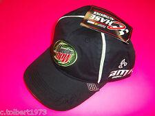 DALE EARNHARDT JR # 88 BLACK MOUNTAIN DEW / AMP ENERGY NASCAR WINNER CIRCLE HAT2