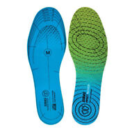 Sidas Unisex Impact Reducer Dual Foam Blue Green Sports Gym Running Insoles
