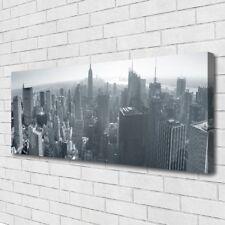 Leinwand-Bilder Wandbild Canvas Kunstdruck 125x50 Stadt Gebäude