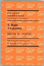 A Rude Awakening by Brian W. Aldiss  (Uncorrected Proof)