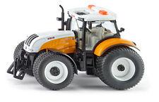 Siku 3286 Steyr 6240 CVT Kommunal Traktor Landwirtschaft Fahrzeug Modell Auto