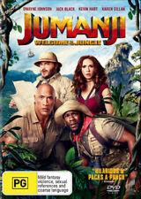Jumanji 2 Welcome To The Jungle DVD R4 New!