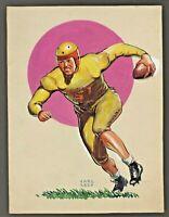 1920s-1930's FOOTBALL ORIGINAL ARTWORK - Pulp Fiction Cover ??