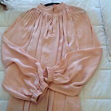 Witchery Shell Pink Gathered Blouse Size 10
