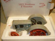 A Danbury mint 1927 Fordson F, Farm tractor. boxed,