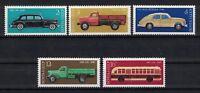 RUSSIA, USSR:1976 SC#4440-44(5) MNH - Soviet Automotive Industry.