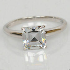 3.00 Ct Marquise Cut Solitaire Engagement Ring Solid 14k White Gold