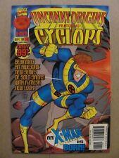 Uncanny Origins #1 Marvel Comics 1996 Series Cyclops 9.4 Near Mint+