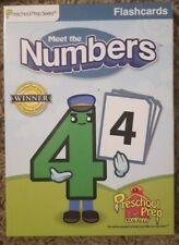 Meet the Numbers Flashcards Preschool Prep