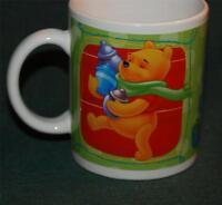 COFFEE MUG: DISNEY - Winnie the Pooh, Tigger and Piglet - Colorful!