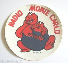 ADESIVO RADIO / Sticker / Autocollant _ MONTE CARLO ZODIACO GEMELLI (cm 9)