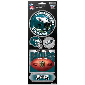 Philadelphia Eagles Prismatic Decal Sticker Set