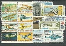 """Lot timbres thematique """"avions"""""""