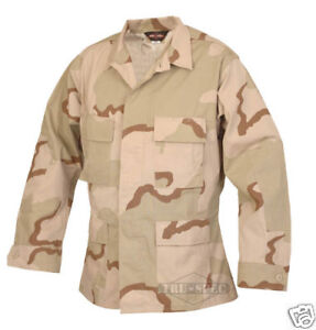 Desert 3 Color Jacket - Camo BDU Uniform by TRU SPEC 1897 - MEDIUM REGULAR