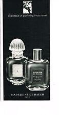 PUBLICITE ADVERTISING 024   1969   MADELEINE DE RAUCH  parfum MONSIEUR & MISS