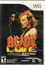 AC/DC Live: Rock Band Track Pack  (Wii, 2008) **New & Sealed**