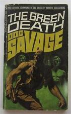 DOC SAVAGE #65 GREEN DEATH KENNETH ROBESON BANTAM 1971 1ST ED PB