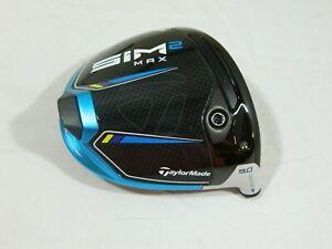 RH 2021 Taylormade Sim2 MAX 9* Driver Head Only Sim 2 + Headcover H/C