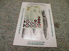 Xtradecal  decals 1/72 XO47-72 Hawker Hunter F MK9 / FR10 54 8/43 56 sq     K11