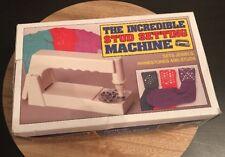The Incredible Stud Setting Machine, Sets Jewels, Rhinestones and Studs, New