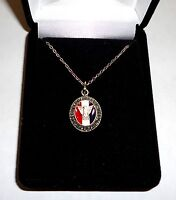Boy Scouts of America Eagle Scout Pendant/Necklace with Presentation Case