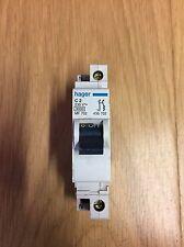 Hager 2 Amp Type C Double 2 Pole Mcb Circuit Breaker MF 702