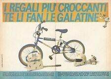 X0563 Le Galatine - Bici BMX Olmo - Pubblicità del 1987 - Vintage advertising