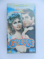 VHS Video Kassette Grease John Travolta Olivia Newton John englisch