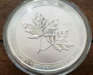 2017 10oz 50 Dollar Silver Maple Leaf