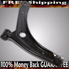 Front LH Driver Lower Control Arms Black for Jeep 07-14 Compass/ Patriot