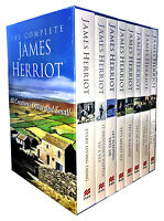 The Complete James Herriot Box Set 1-8 Collection 8 Books Set Every Living Thing