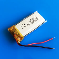 300mAh 3.7V LiPo Rechargeable battery 601535 for MP3 GPS Bluetooth Video Pen PSP