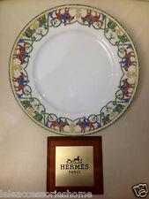 Assiette Plate - Américain Hermes Porcelaine Early L'amérique