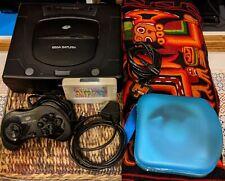 Sega Saturn Consola y 13 Juegos, Pedales, Replay 4M Plus Action